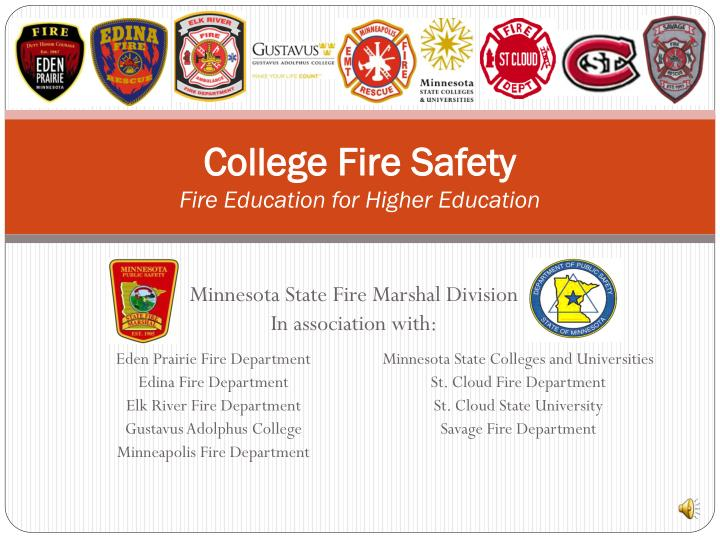 college fire safety fire education for higher education n.