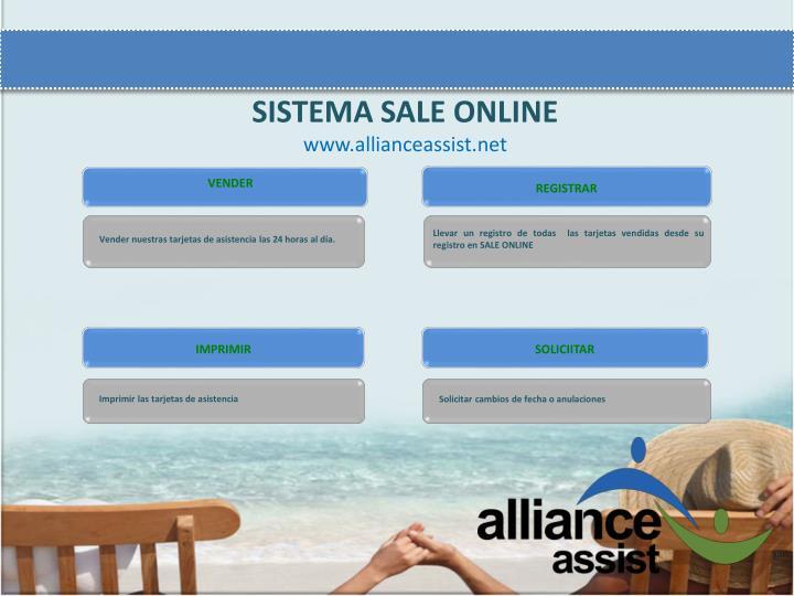 SISTEMA SALE ONLINE