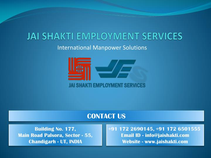 JAI SHAKTI EMPLOYMENT SERVICES