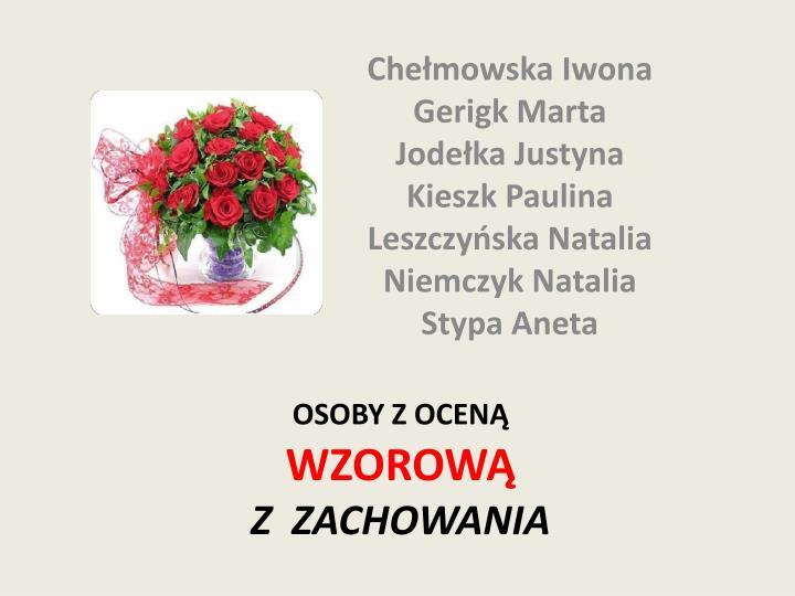 Chełmowska