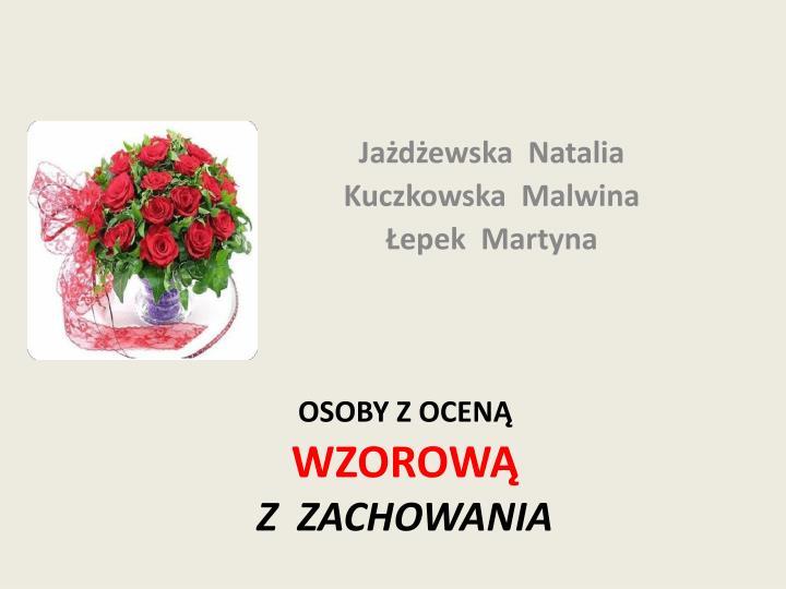 Jażdżewska  Natalia