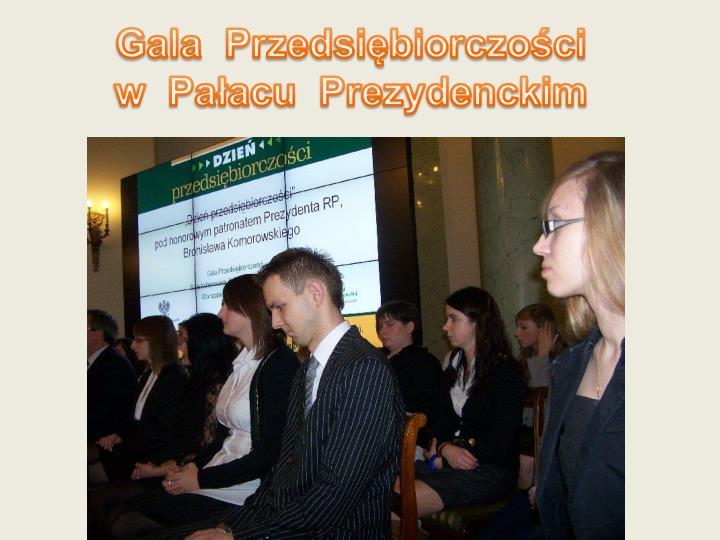Gala  Przedsiębiorczości