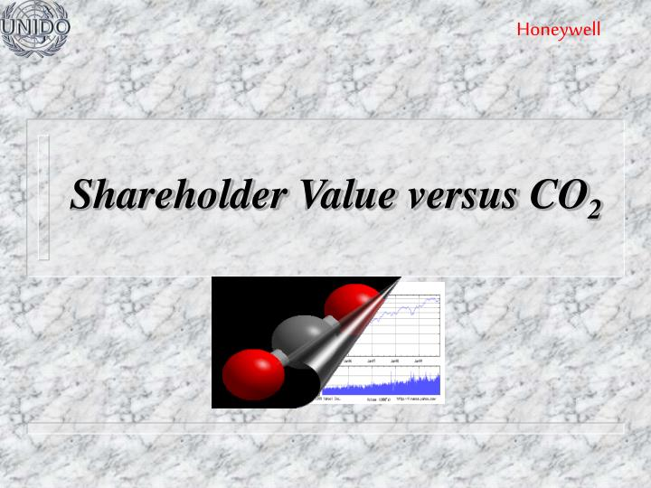 shareholder value versus co 2 n.
