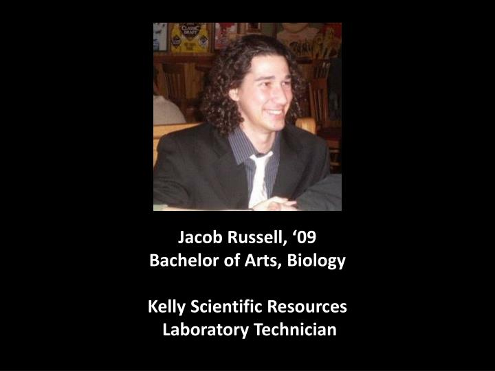 Jacob Russell, '09