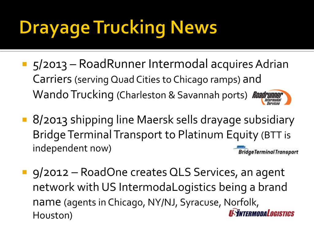 PPT - Intermodal News Report Intermodal Association of