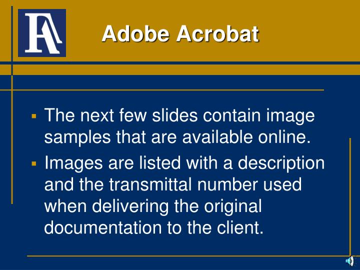 The next few slides contain image samples that are available online.