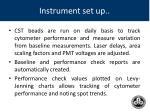 instrument set up1