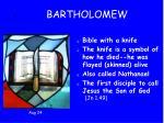 7 bartholomew
