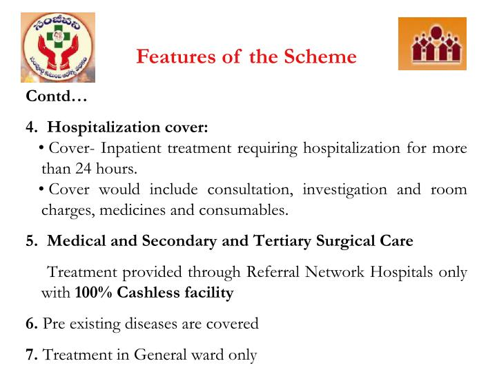 Features of the Scheme