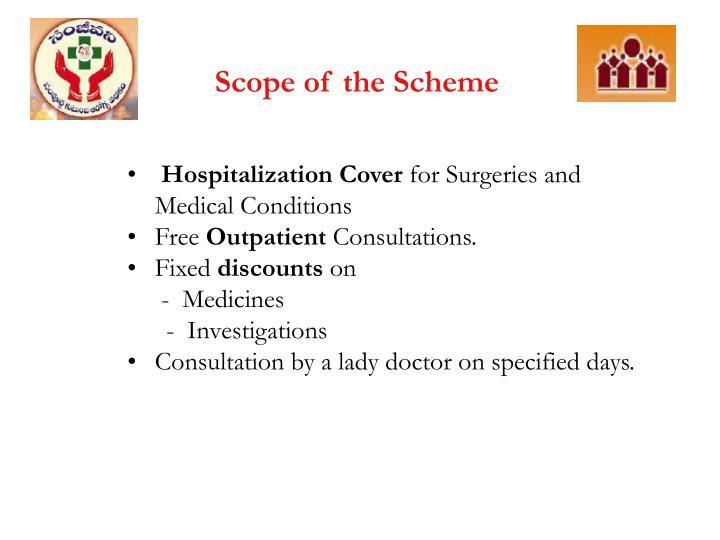 Scope of the Scheme