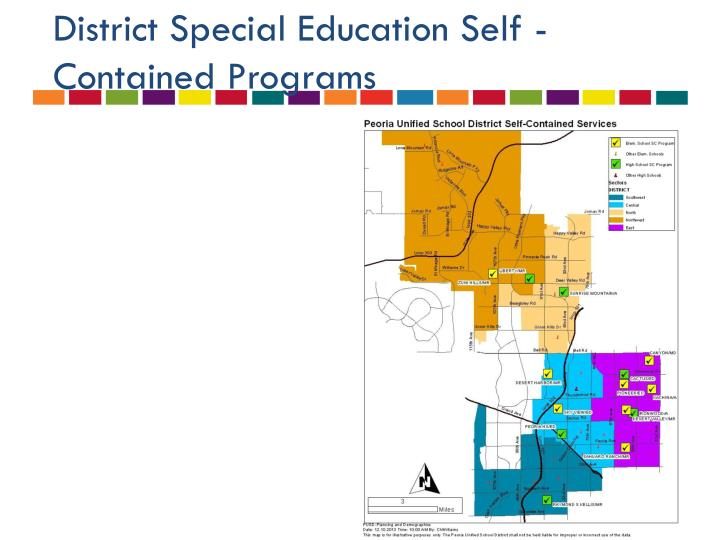 District Special Education Self -Contained