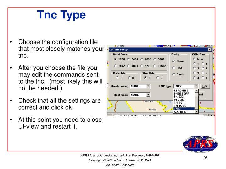 Tnc Type