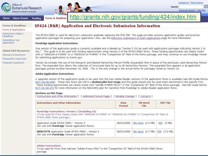 http://grants.nih.gov/grants/funding/424/index.htm