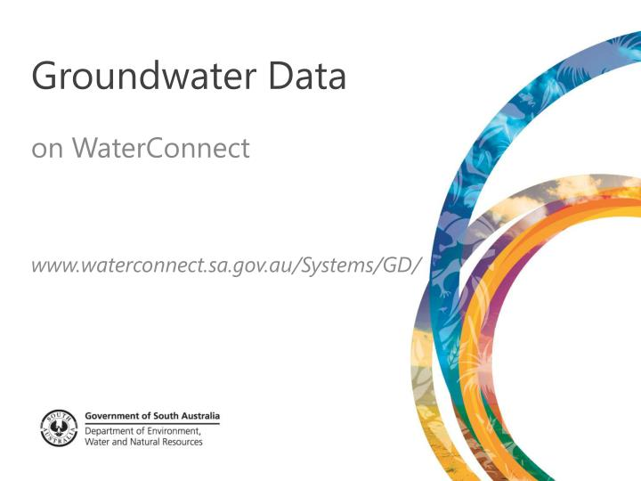 groundwater data n.