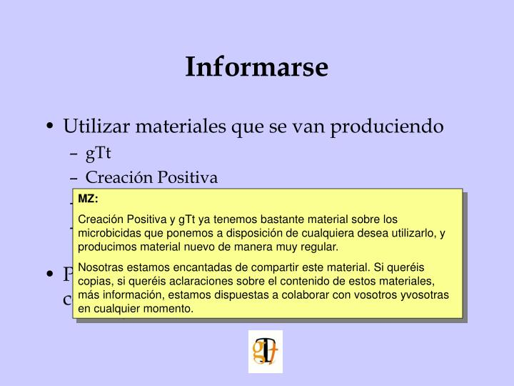 Informarse