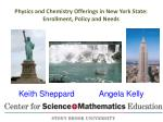 physics and chemistry offerings in new york state enrollment policy and needs
