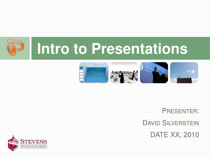 intro to presentations n.