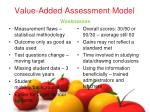 value added assessment model1
