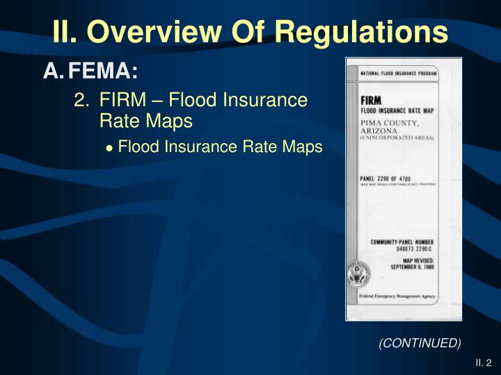 overview fema On march 21, 2014, president obama signed the homeowner flood insurance affordability act of 2014 into law here is a brief overview of the provisions included in.