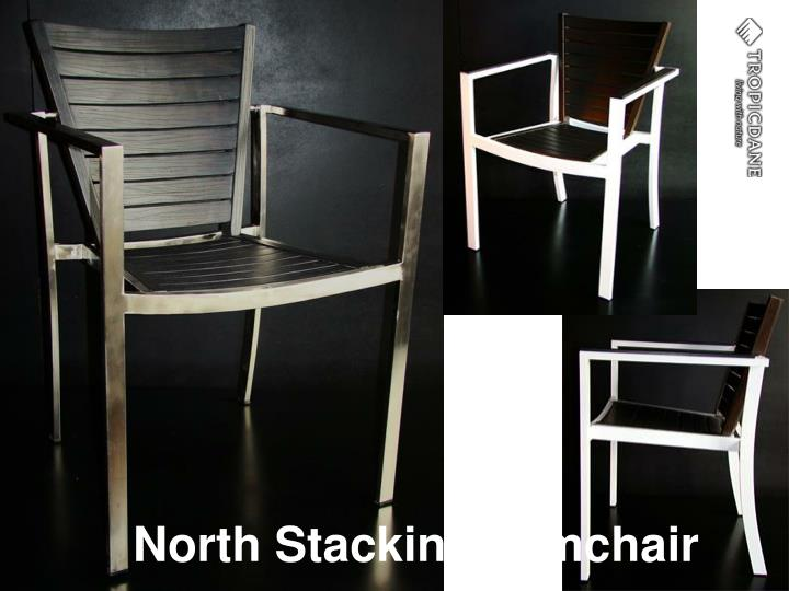 North Stacking Armchair