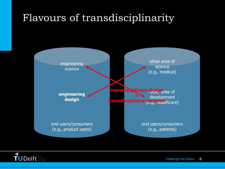 Flavours of transdisciplinarity