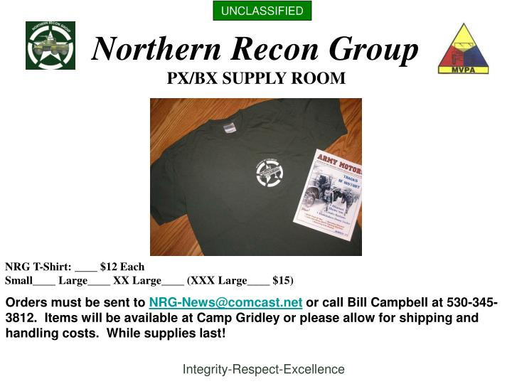 northern recon group n.