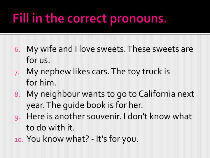 Gender Pronouns LGBT Resource Center