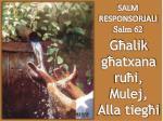 salm responsorjali salm 62