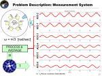 problem description measurement system