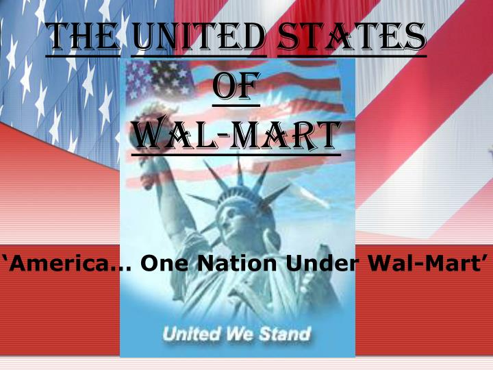 the united states of wal mart n.