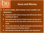 jesus and money1