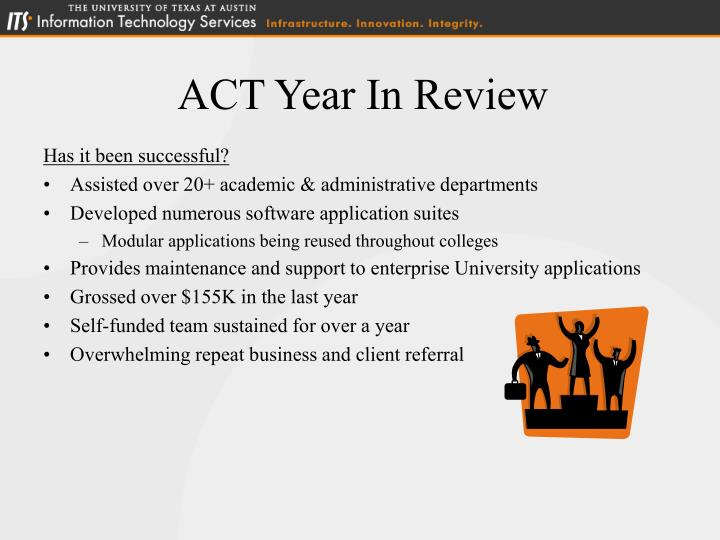 ACT Year In Review