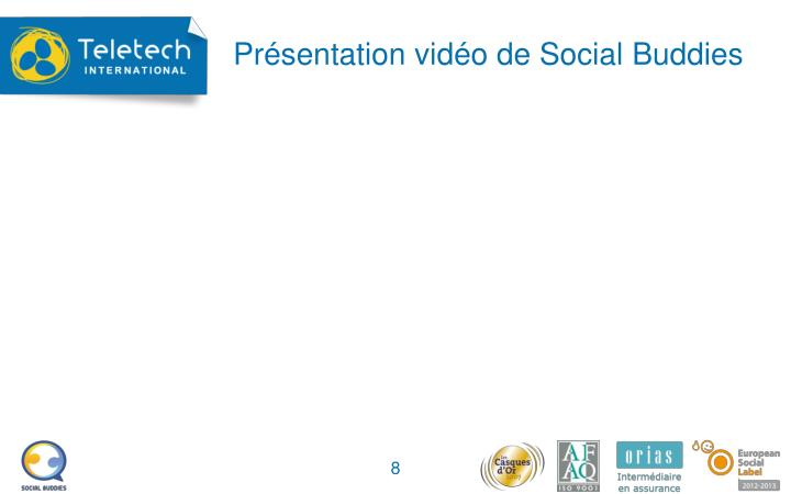 Présentation vidéo de Social