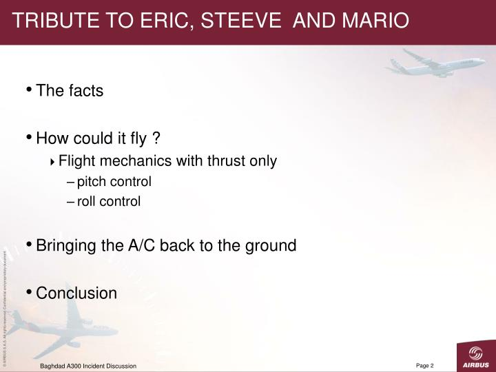 Tribute to eric steeve and mario