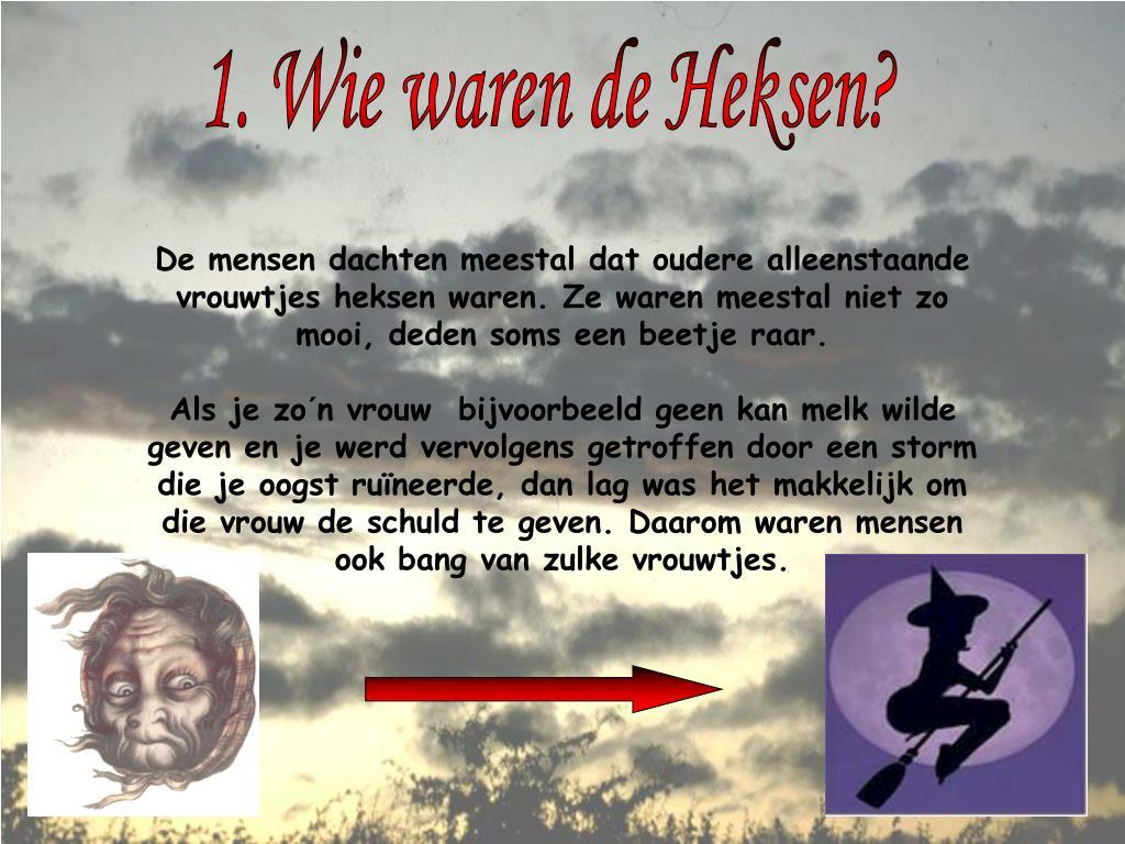 Wonderbaarlijk PPT - Heksen in de Middeleeuwen PowerPoint Presentation, free YK-41