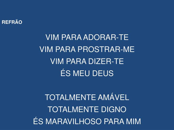 REFRÃO