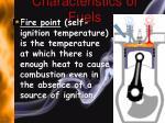 characteristics of fuels1