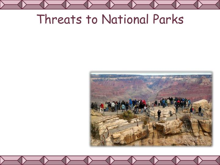 Threats to National Parks
