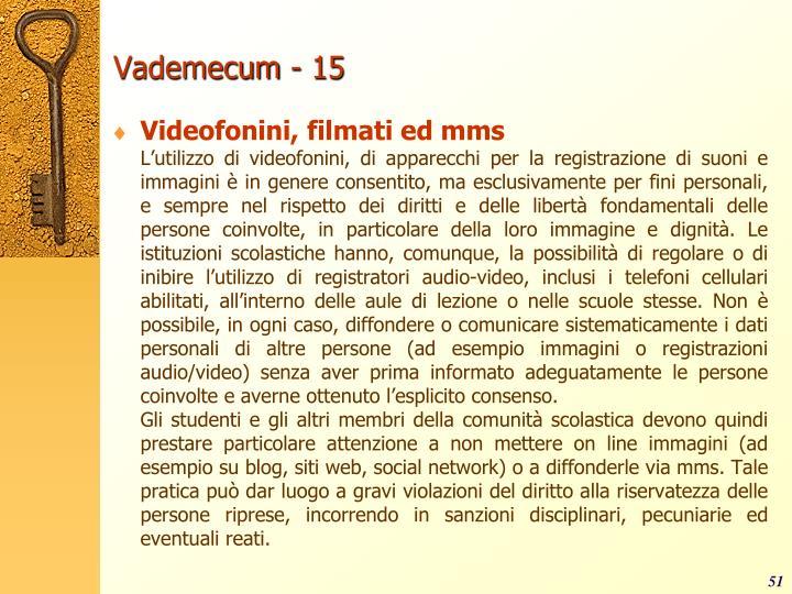 Vademecum - 15