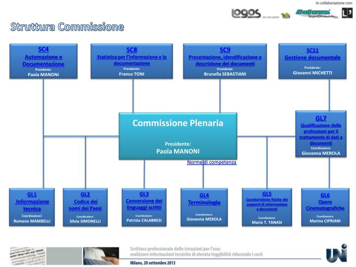 Struttura Commissione