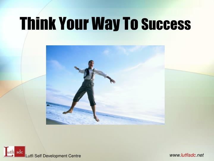 think your way to success n.