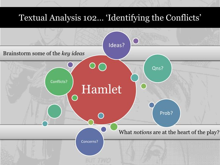Textual Analysis 102… 'Identifying the Conflicts'