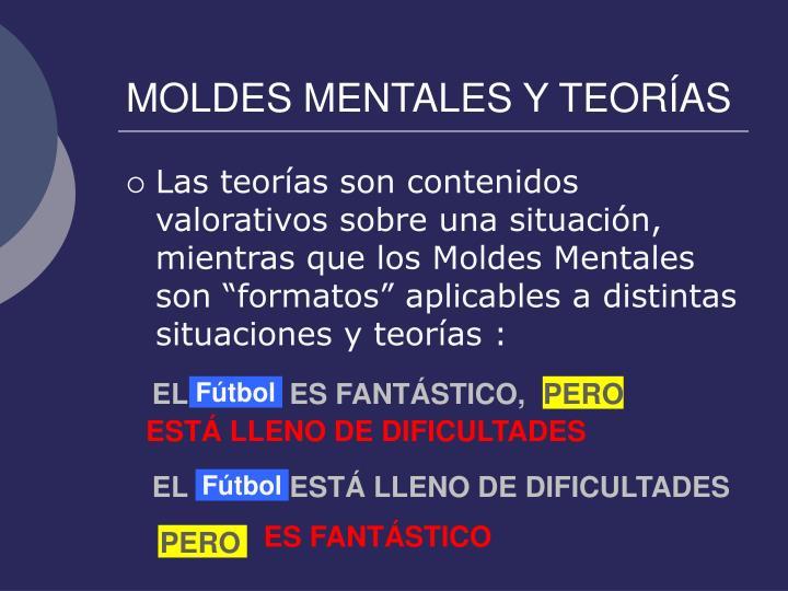 MOLDES MENTALES Y TEORÍAS