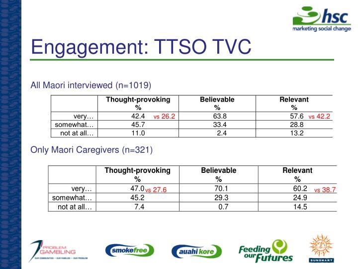 Engagement: TTSO TVC
