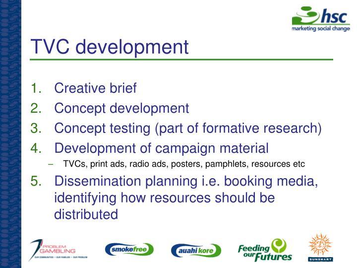 TVC development