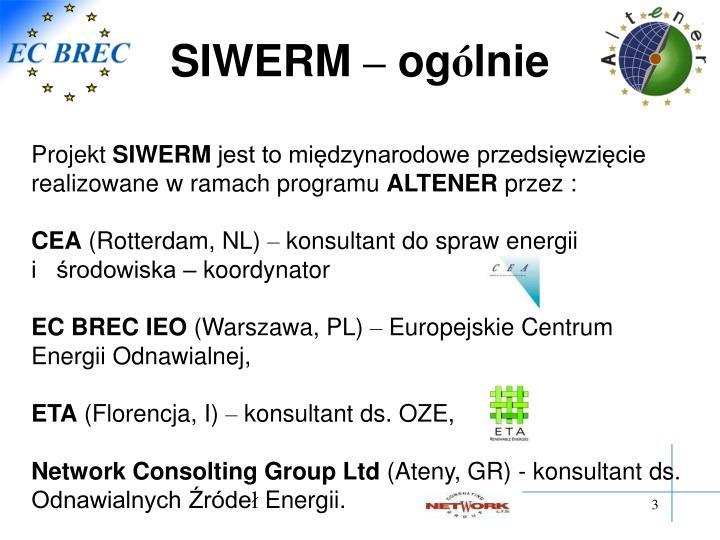 SIWERM