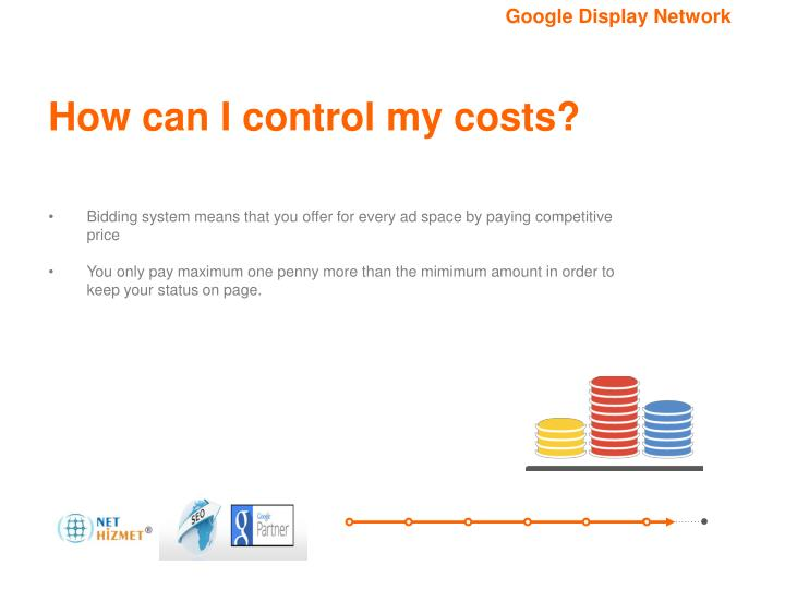 How can I control my costs?