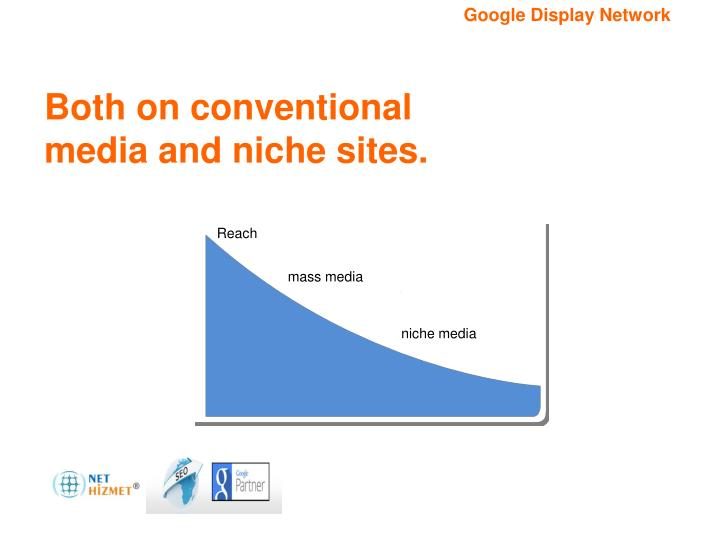 Both on conventional media and niche sites.