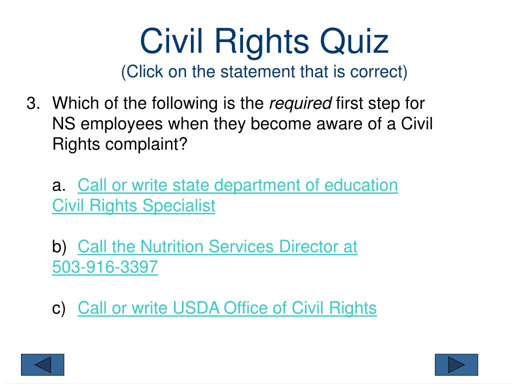 PPT - CIVIL RIGHTS PowerPoint Presentation - ID:4862059