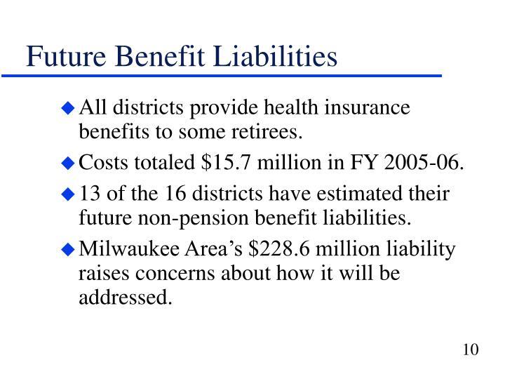 Future Benefit Liabilities